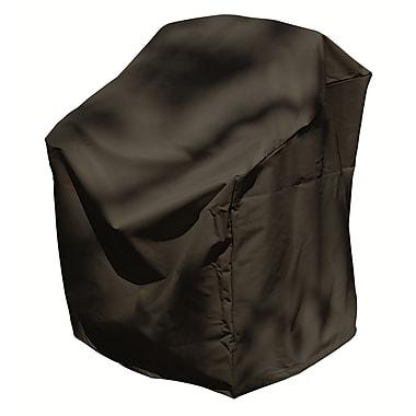 Mr. Bar-B-Q® Backyard Basics™ Stacked Chairs Cover, Black
