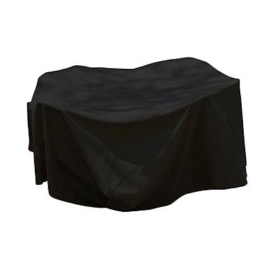 Mr. Bar-B-Q® Backyard Basics™ Rectangle Patio Set Cover, Black, Large