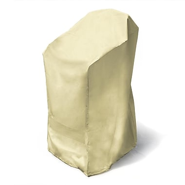 Mr. Bar-B-Q® Backyard Basics™ Stacked Chairs Cover, Off White
