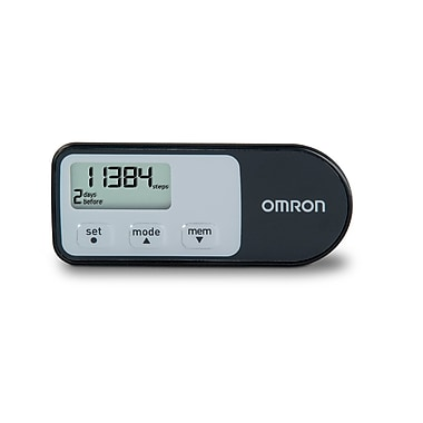Omron® Healthcare® Tri-Axis Hip Pedometer With Four Activity Modes