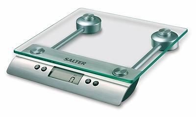Salter Aquatronic® Electronic Kitchen Scale With Glass Platform