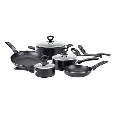 T-fal® Mirro Get A Grip 10 Piece Nonstick Aluminum Cookware Set