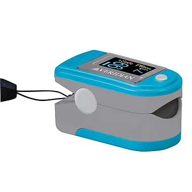 Veridian Healthcare® Deluxe Pulse Ox Fit™ Finger Pulse Oximeter, Pocket-Size
