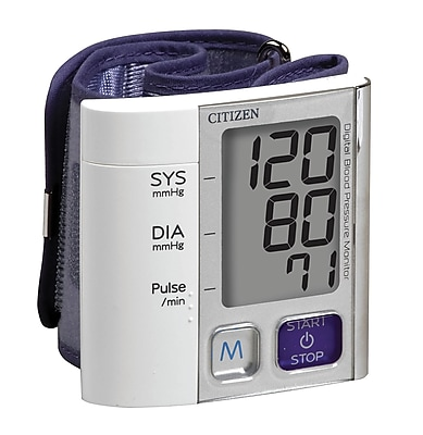 Veridian Healthcare® CITIZEN Digital Blood Pressure Wrist Monitor