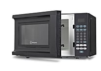 Westinghouse 700 W Microwave Oven With Push Button Touch Controls, Black