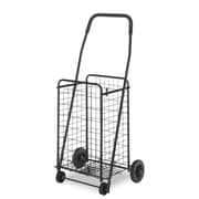 Whitmor Rolling Utility Cart, Black