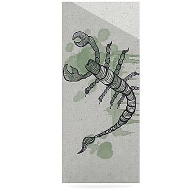 KESS InHouse Scorpio by Belinda Gillies Graphic Art Plaque