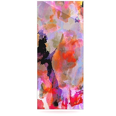 KESS InHouse Painterly Blush by Nikki Strange Painting Print Plaque
