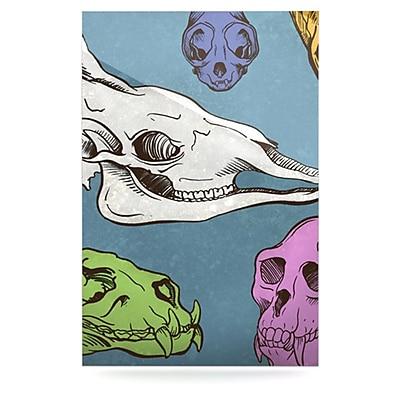 KESS InHouse Skulls by Sophy Tuttle Graphic Art Plaque