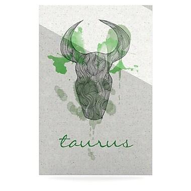 KESS InHouse Taurus by Belinda Gillies Graphic Art Plaque; 36'' H x 24'' W