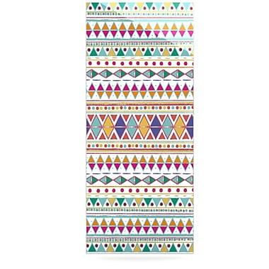 KESS InHouse Native Fiesta by Nika Martinez Graphic Art Plaque; 21'' H x 9'' W
