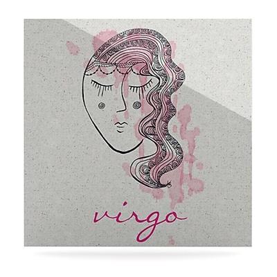 KESS InHouse Virgo by Belinda Gillies Graphic Art Plaque; 8'' H x 8'' W
