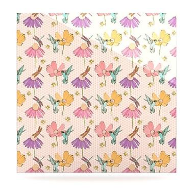 KESS InHouse Magic Garden by Laura Escalante Graphic Art Plaque; 8'' H x 8'' W
