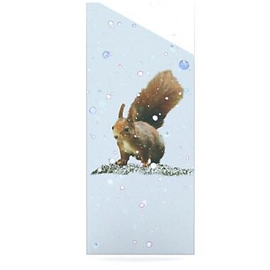 KESS InHouse Squirrel by Monika Strigel Graphic Art Plaque; 21'' H x 9'' W
