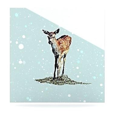 KESS InHouse Fawn by Monika Strigel Graphic Art Plaque; 8'' H x 8'' W