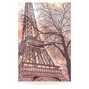 KESS InHouse Eiffel Tower by Sam Posnick Graphic Art Plaque