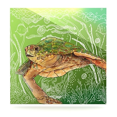KESS InHouse Shelley by Catherine Holcombe Graphic Art Plaque; 10'' H x 10'' W