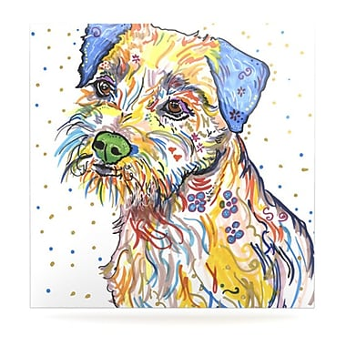 KESS InHouse Rory by Rebecca Fischer Painting Print Plaque; 10'' H x 10'' W