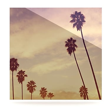 KESS InHouse Endless Summer by Catherine McDonald Photographic Print Plaque; 8'' H x 8'' W