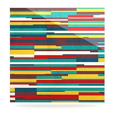 KESS InHouse Blowmind by Danny Ivan Graphic Art Plaque; 10'' H x 10'' W