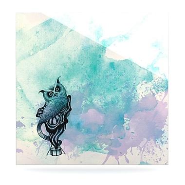 KESS InHouse Owl II by Graham Curran Graphic Art Plaque; 8'' H x 8'' W