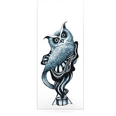 KESS InHouse Owl by Graham Curran Graphic Art Plaque; 21'' H x 9'' W