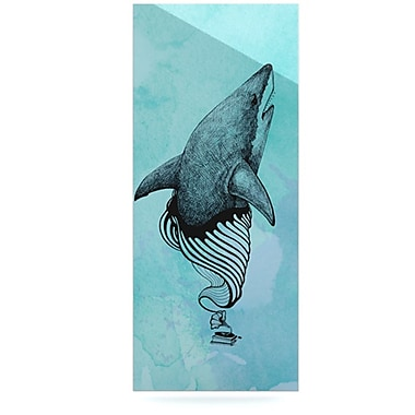 KESS InHouse Shark Record III by Graham Curran Graphic Art Plaque; 20'' H x 16'' W