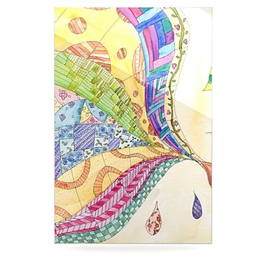 KESS InHouse The Painted Quilt by Catherine Holcombe Graphic Art Plaque