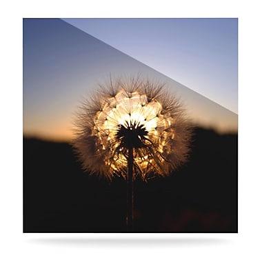 KESS InHouse Glow by Skye Zambrana Photographic Print Plaque; 10'' H x 10'' W