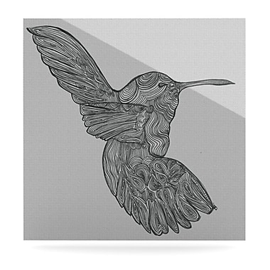 KESS InHouse Hummingbird by Belinda Gillies Graphic Art Plaque; 10'' H x 10'' W