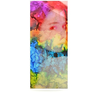 KESS InHouse Rainbow Splatter by Claire Day Graphic Art Plaque
