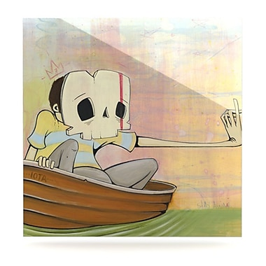 KESS InHouse Drifting by Matthew Reid Painting Print Plaque; 10'' H x 10'' W