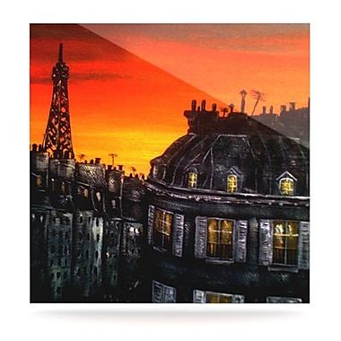 KESS InHouse Paris by Christen Treat Graphic Art Plaque; 10'' H x 10'' W