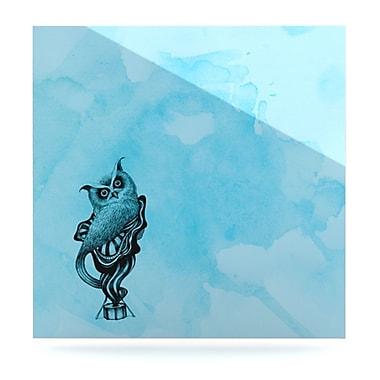 KESS InHouse Owl III by Graham Curran Graphic Art Plaque; 8'' H x 8'' W