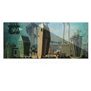 KESS InHouse San Diego by iRuz33 Graphic Art Plaque
