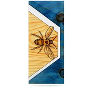 KESS InHouse Bees by Brittany Guarino Graphic Art Plaque