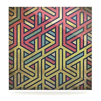 KESS InHouse Deco by Graphic Art Plaque; 8'' H x 8'' W