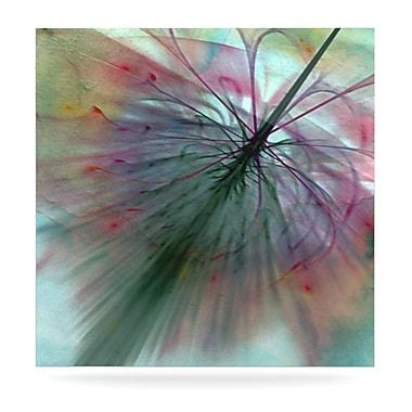 KESS InHouse Fleur by Alison Coxon Graphic Art Plaque; 10'' H x 10'' W