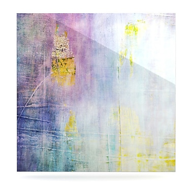 KESS InHouse Color Grunge by Iris Lehnhardt Graphic Art Plaque; 10'' H x 10'' W