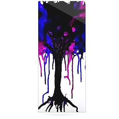 KESS InHouse Weeping Willow by Claire Day Graphic Art Plaque; 21'' H x 9'' W