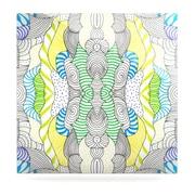 KESS InHouse Wormland by Monika Strigel Graphic Art Plaque; 8'' H x 8'' W