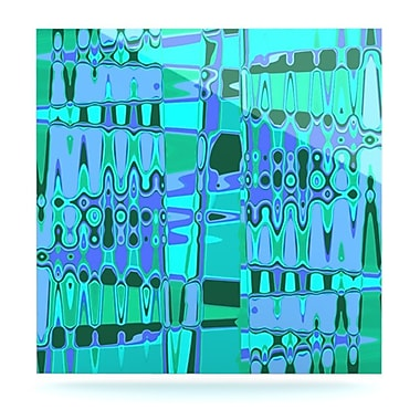 KESS InHouse Changing Gears by Vikki Salmela Graphic Art Plaque; 8'' H x 8'' W
