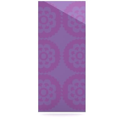KESS InHouse Moroccan by Nicole Ketchum Graphic Art Plaque; Lilac