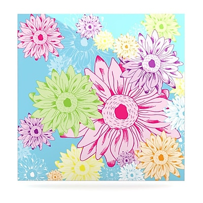 KESS InHouse Summer Time by Laura Escalante Painting Print Plaque; 10'' H x 10'' W