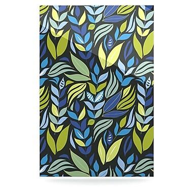 KESS InHouse Underwater Bouquet Night by Michelle Drew Graphic Art Plaque; 36'' H x 24'' W