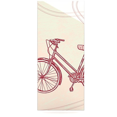 KESS InHouse Bicycle by Sam Posnick Graphic Art Plaque