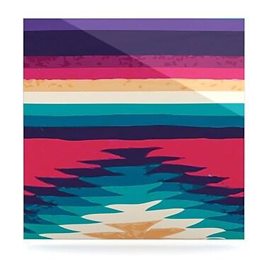 KESS InHouse Surf by Nika Martinez Graphic Art Plaque; 10'' H x 10'' W