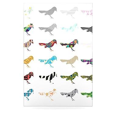 KESS InHouse Birds by Belinda Gillies Graphic Art Plaque