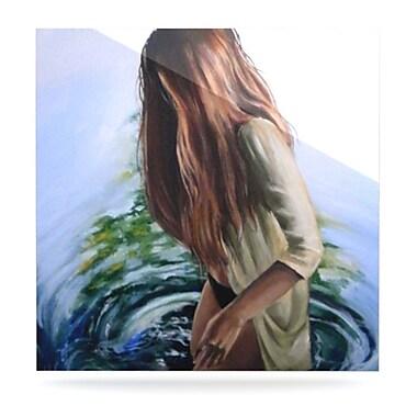 KESS InHouse Knee Deep by Lydia Martin Painting Print Plaque; 10'' H x 10'' W