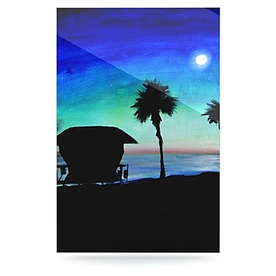 KESS InHouse Carlsbad State Beach by Theresa Giolzetti Graphic Art Plaque